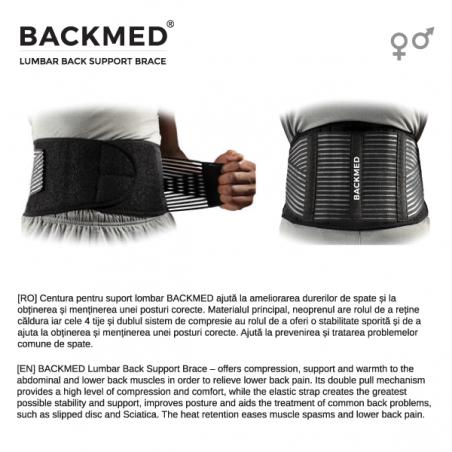 Centura pentru suport lombar BACKMED