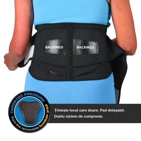 Centura pentru suport lombar BACKMED PLUS